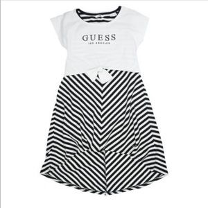 GUESS Girl's Layered Cotton Blend Dress